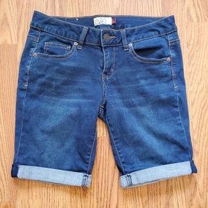 Bermuda Rolled Hem Shorts
